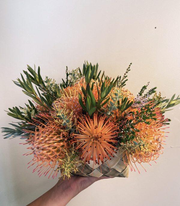 Peach Sunrise Basket