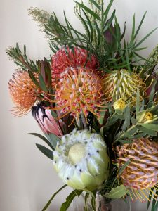 Deluxe Protea Gift Box Detail
